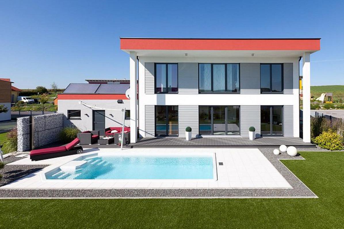 Új családi ház építése Generálkivitelezés Velencei tó épitőipari cégek Velencei tó