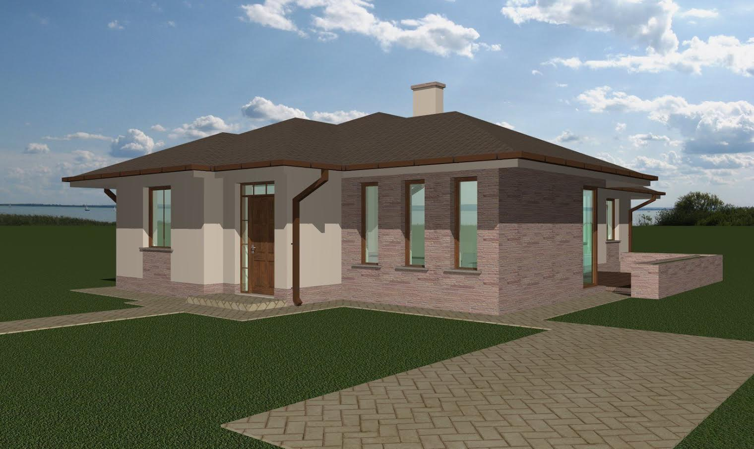 Új családi ház építése Generálkivitelezés Paks épitőipari cégek Paks Kőművesek Paks