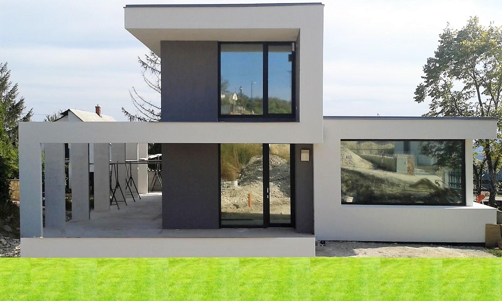 Családi ház kivitelezők épitőipari vállalkozók Balatonfüred Új családi ház épitése generélkivitelezése Balatonfüred