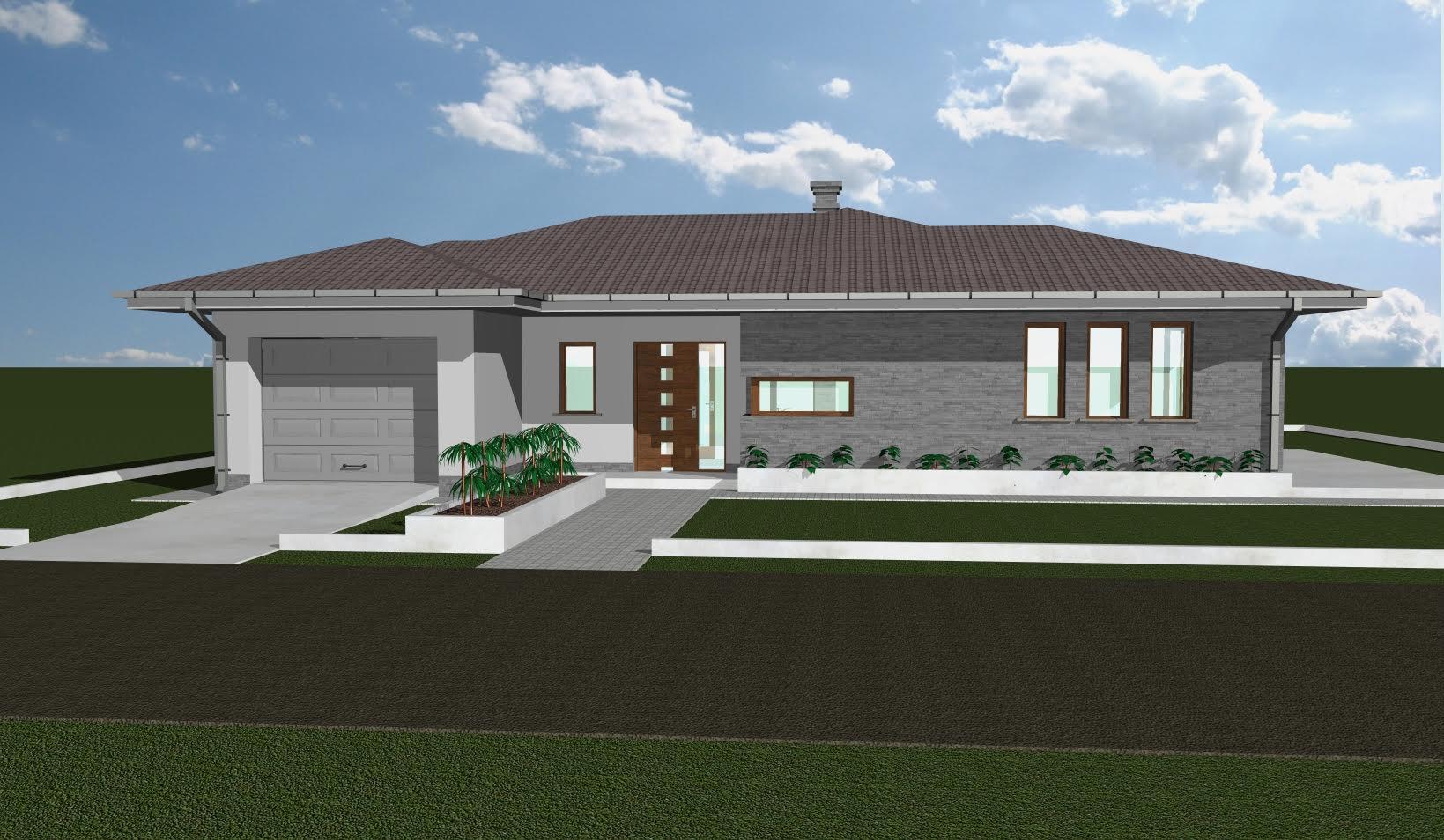 Új családi ház építése Generálkivitelezés Pápa épitőipari cégek Pápa