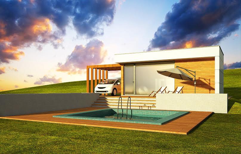 Új  olcsó modern mobilház Balatonfüred